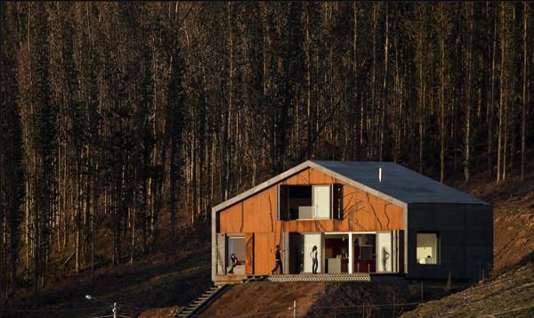 casa prefabrica en Galicia 06
