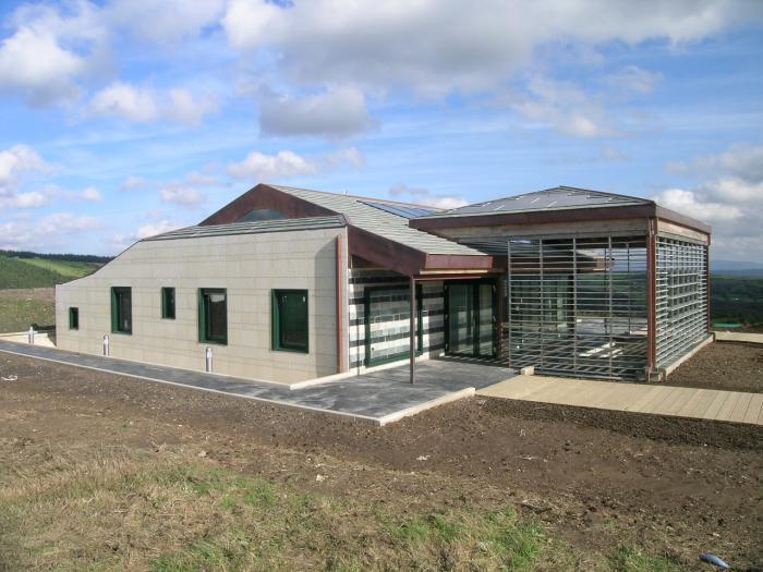 Vivienda bioclim tica de sotavento lugo galicia cool for Construccion de casas bioclimaticas