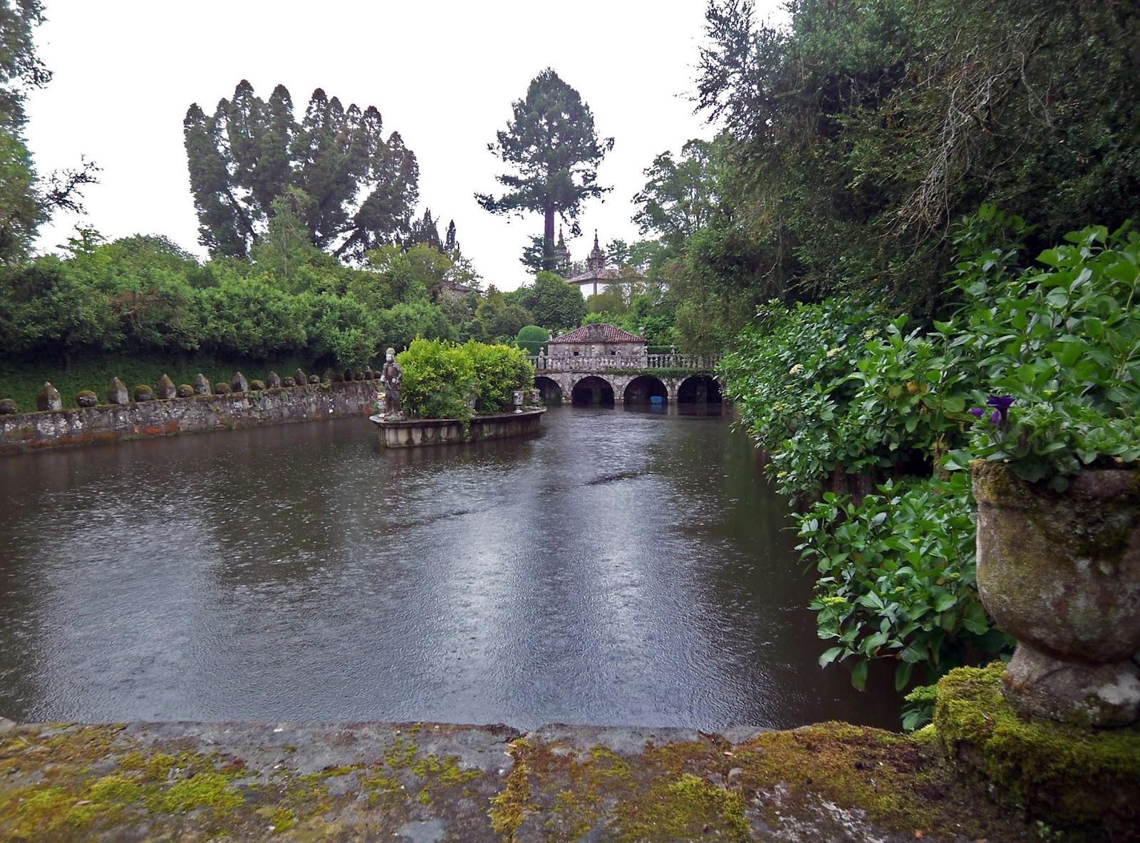 Jardines del pazo de oca en a estrada pontevedra for Jardines galicia