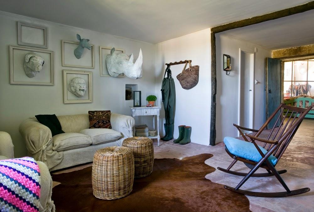Casa de la campo en galicia publicada en elle decor y en - Casas de campo en galicia ...