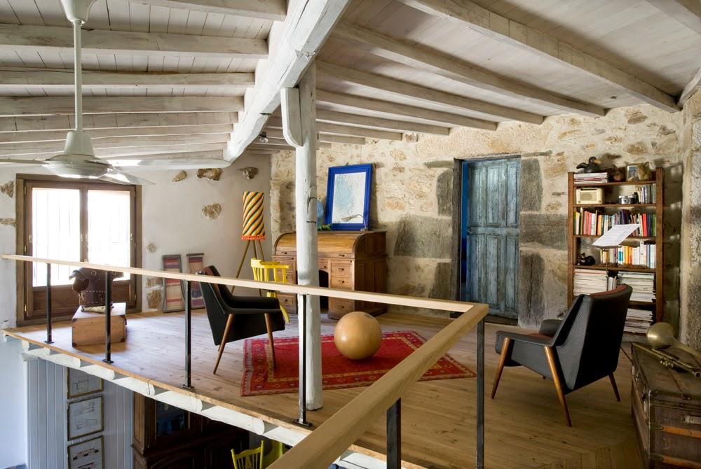 Casa de la campo en galicia publicada en elle decor y en bright bazaar book galicia cool magazine - Casas de campo en galicia ...