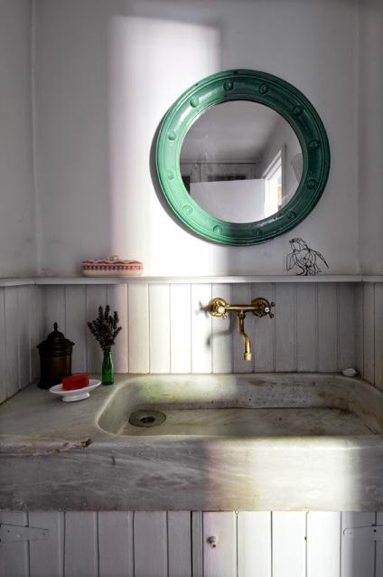 baño rustico ourense
