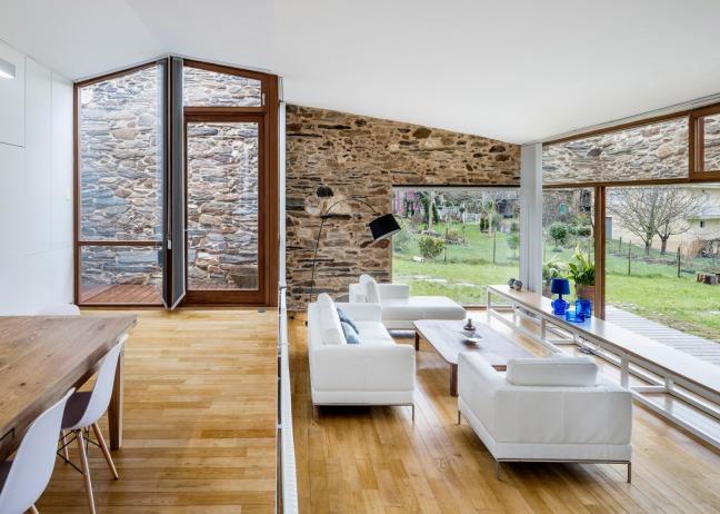 casa restaurada ribeira Sacra Galicia 03