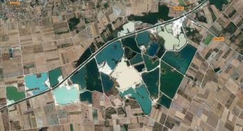 lagunas entre Sandiás y Xinzo