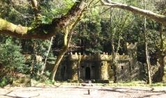 El Bosque encantado en Aldán, Pontevedra.
