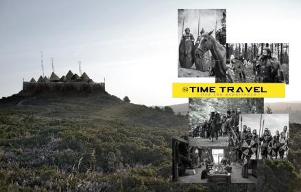 """""""TIME TRAVEL"""" TRANSPORTAR AL TURISTA A UN CASTRO DEL I D.C."""