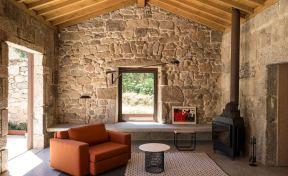 vivienda de vacaciones de arquitecto británico en Aldan, Pontevedra.