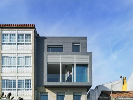 Rehabilitación de vivienda en Cangas, Pontevedra.